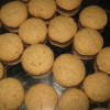 Wheat Walnut Cookies