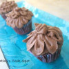 Eggless Chocolate Cupcakes with Choco Butter Cream