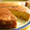 Eggless Paneer and Pineapple Cake