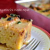Eggless Bread and Chocolate Chips Pudding