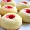 Eggless Thumb Print Cookies