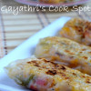 Paneer Spring Roll (With Rice Paper)