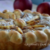 Eggless Yeasted Apple Sugar Tart