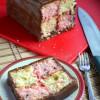 Eggless Battenberg Cake