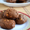 Eggless Chocolate Cream Cheese Cookies