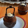 Eggless Cauldron Cake