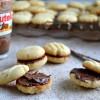 Eggless Spritz Sandwich Cookies