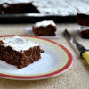 Eggless Choco Beet Cake
