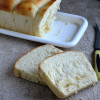 Eggless White Bread- Tangzhong Method