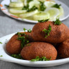Icle Kofte - Vegetarian version of Turkish Koftes