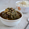 Quormeh Sabzi (Vegetarian Version)