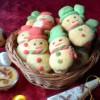 Snow Men Butter Cookies