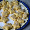 Eggless Sugar Cookies with Buttercream Icing