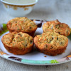 Baked Medhu Vada - Guilt Free Version of Medhu Vada and Thayir Vada
