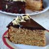 Eggless German Tree Cake / Baumkuchen / Schichttorte