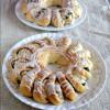 Eggless Vetekrans / Swedish Tea Rings