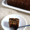 Eggless Ragi Carrot and Nut Cake