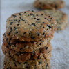 Eggless Japanese Sesame Cookies