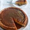 Eggless New York Cheesecake/ Baked Cheesecake Recipe