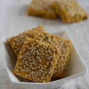 Savoury Chickpea Flour Cookies