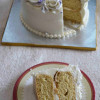 Vegan Vanilla Sponge Cake with Aquafaba