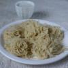 Pulungalarisi Idiyappam With Par Boiled Saamai/ Little Millet