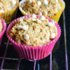Eggless Wheat Banana Muffins