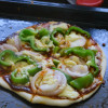 Green Bell Pepper and Onion Pizza Recipe