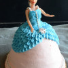 How To Make a Barbie Doll Cake / Doll Cake - Video