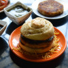 Desi Burger Chat Recipe - Indian Chat Recipes
