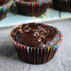 Eggless Chocolate Tutti Frutti Muffins Recipe