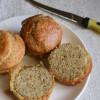 Almond Flour Sandwich Buns - #BreadBakers