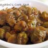 Kurivi Thalai Pavakkai / Baby Bitter Gourd Puli Kulambu