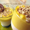 Pumpkin Panna Cotta and Nestle Florentine Cookies