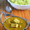 Tofu and Green Peas Xacuti