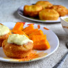 Eggless Savarin- Yeasted Cake