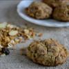 Eggless Muesli Cookies
