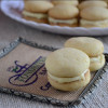 Eggless Orange Cream Cookies