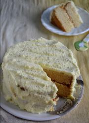 Eggless Pineapple Cake / Pastry