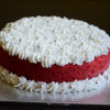 How To Bake  Eggless Red Velvet Cake In Pressure Cooker / Without Oven - Video Recipe