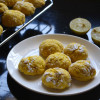 Eggless Lemon Crinkle Cookies