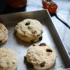 Egg Free Irish Raisin Tea Scones - #BreadBakers