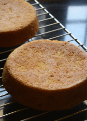 Vegan Vanilla Sponge Cake Recipe with Aquafaba - Video