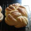 Eggless Winston Knot Challah Bread - #BreadBakers