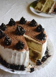 Eggless Tiramisu Cake - Video Recipe