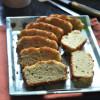 Low Carb Gluten Free Coconut Flour Garlic Rosemary Bread - #BreadBakers