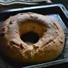 Buccellato Di Lucca - Italian Raisin Bread Recipe - #BreadBakers
