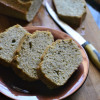 Coconut Flour Garlic Basil Loaf Recipe
