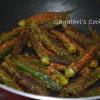 Stuffed Okra Stir Fry