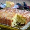 Eggless Orange Walnut Cake